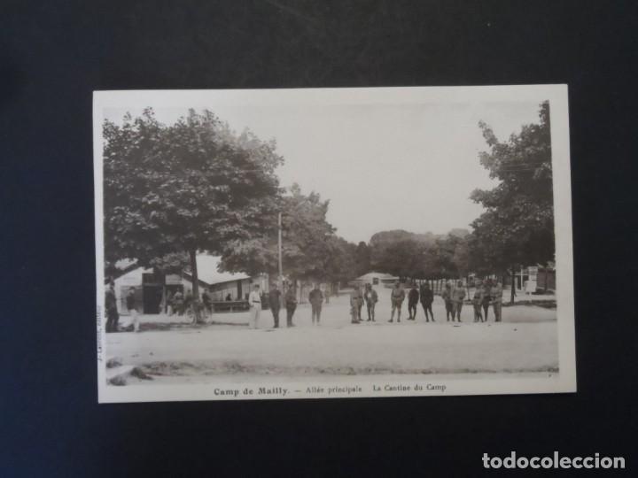 Militaria: ALLE PRINCIPALE. LA CANTINE DU CAMP - CAMP DE MAILLY-ALLE. REPUBLICA FRANCESA. AÑOS 1914-18 - Foto 2 - 209860740