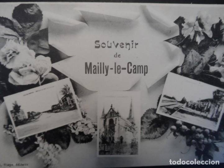 SOUVENIR DE MAILLY-LE-CAMP. FRANCIA. REPUBLICA FRANCESA. AÑOS 1914-18 (Militar - Fotografía Militar - I Guerra Mundial)