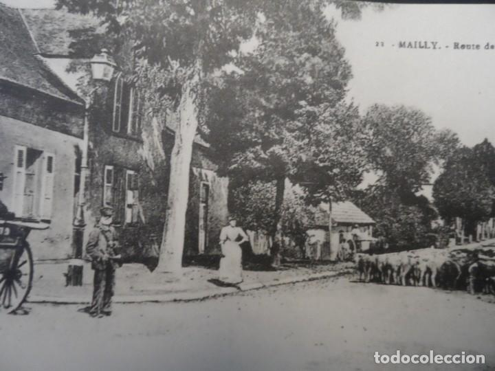 ROUTE DE CHALONS - MAILLY. REPUBLICA FRANCESA. AÑOS 1914-18 (Militar - Fotografía Militar - I Guerra Mundial)