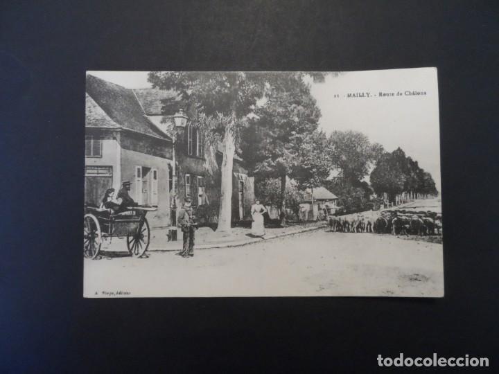 Militaria: ROUTE DE CHALONS - MAILLY. REPUBLICA FRANCESA. AÑOS 1914-18 - Foto 2 - 209862278
