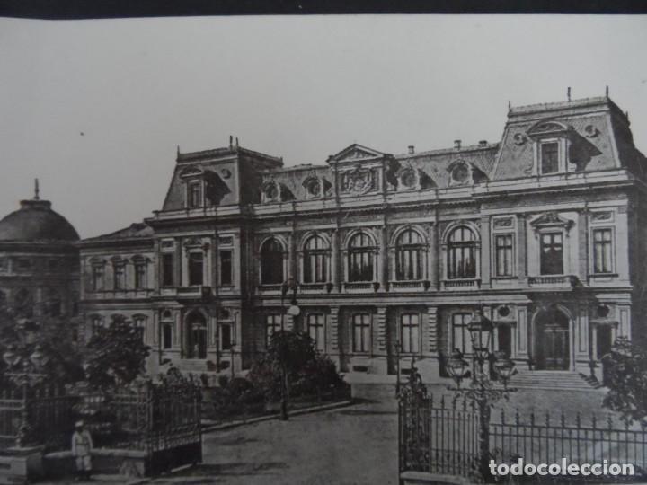 BUCAREST PALACIO REAL. RUMANIA. AÑOS 1914-18. RARA (Militar - Fotografía Militar - I Guerra Mundial)