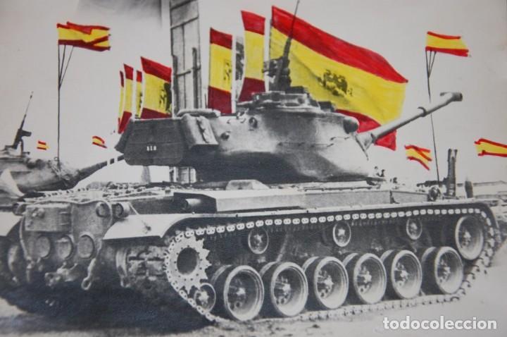 FOTOGRAFIA MILITAR AÑOS 60 DIVISION ACORAZADA/TANQUES ESPAÑOLES (Militar - Fotografía Militar - Otros)
