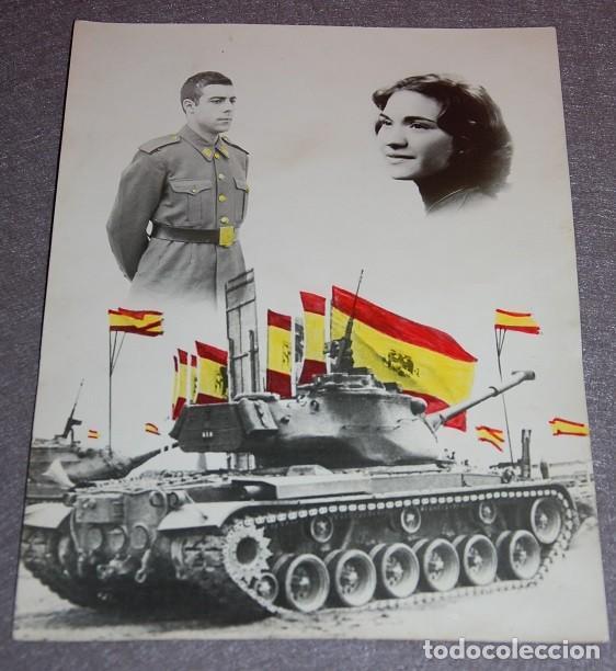 Militaria: FOTOGRAFIA MILITAR AÑOS 60 DIVISION ACORAZADA/TANQUES ESPAÑOLES - Foto 2 - 210064335