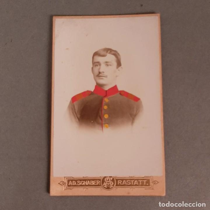 FOTO ORIGINAL DE UN SOLDADO ALEMAN. ALEMANIA 1900 -1915 (BRD) (Militar - Fotografía Militar - I Guerra Mundial)