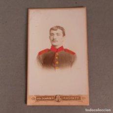 Militaria: FOTO ORIGINAL DE UN SOLDADO ALEMAN. ALEMANIA 1900 -1915 (BRD). Lote 210138767