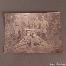 Militaria: FOTOGRAFIA DE SOLDADOS ALEMANES CON AMETRALLADORA. SEGUNDA GUERRA MUNDIAL 1914 - 1918 (BRD). Lote 210139347
