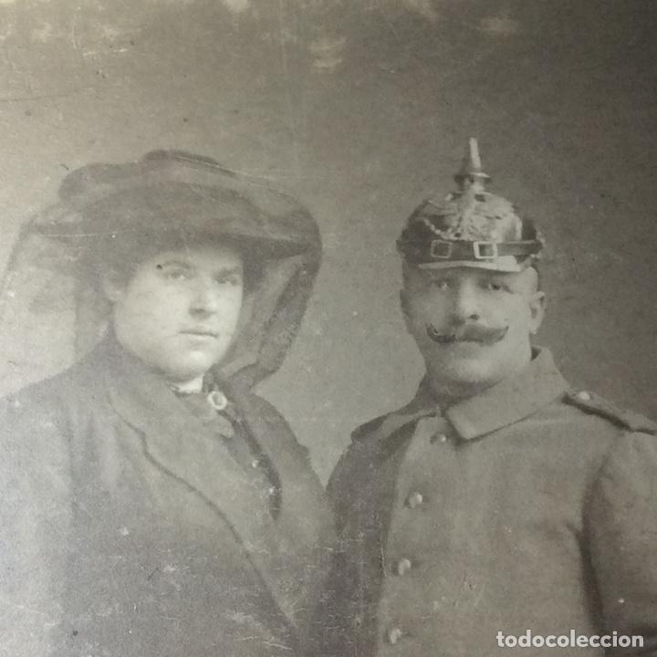 Militaria: Retrato de un oficial alemán junto a su esposa - Foto 2 - 210383901