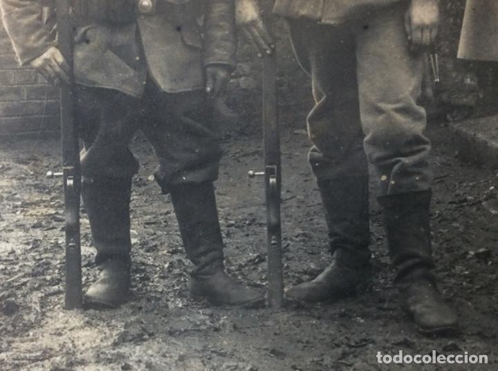 Militaria: Muy curiosa foto militar IG.M. - Foto 3 - 210384041