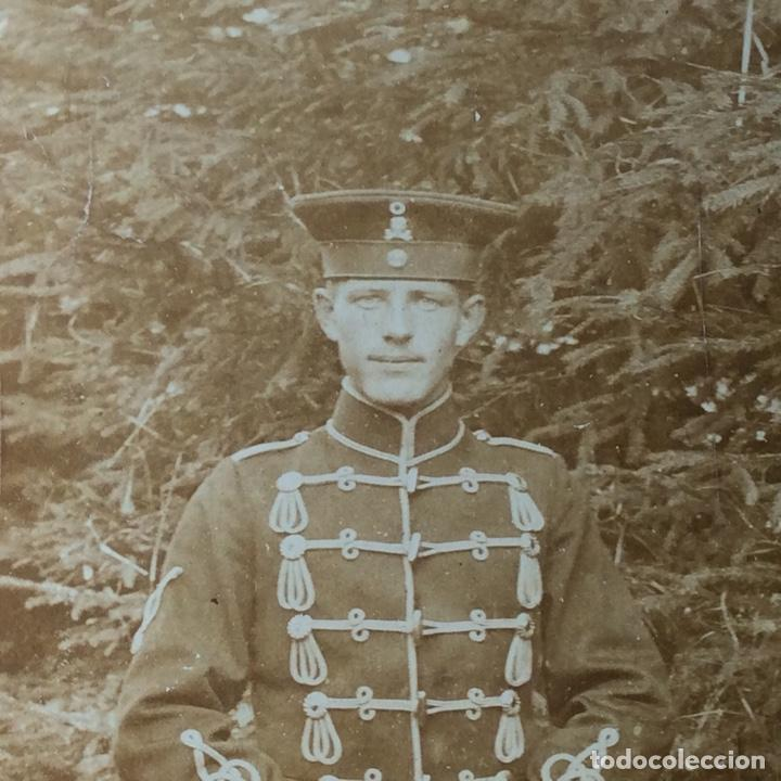 FOTO DE UN MILITAR ALEMÁN IG.M. (Militar - Fotografía Militar - I Guerra Mundial)