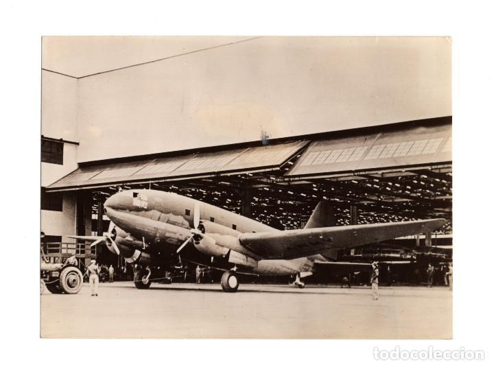 AVIACIÓN.- BIMOTOR CURTISS C-46. TRANSPORTE AEREO.14X10,5 (Militar - Fotografía Militar - II Guerra Mundial)