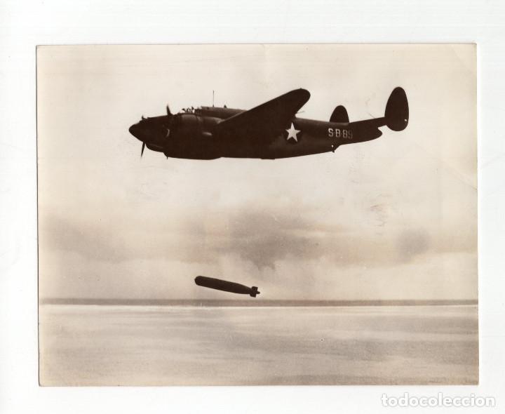 AVIACIÓN.- NUEVO PATRULLERO-BOMBARDERO AMERICANO. AUXILIAR DE LA FLOTA DE GUERRA. 15X11,5 (Militar - Fotografía Militar - II Guerra Mundial)