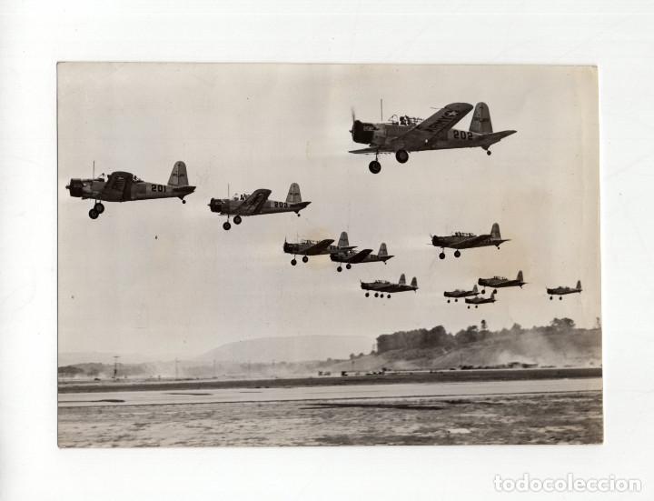AVIACIÓN.- ENTRENAMIENTO AERONAUTICO DE LOS CADETES DE WEST POINT. 15X10,5 (Militar - Fotografía Militar - II Guerra Mundial)