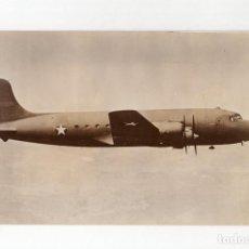 Militaria: AVIACIÓN.- TETRAMOTOR C-54. HACIA UNO DE LOS FRENTES DE COMBATE. 11X17,5. Lote 210767407