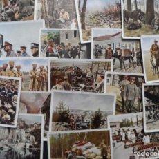 Militaria: DER WELTKRIEG 1914-18. 32 CROMOS I GUERRA MUNDIAL. EN COLOR. ED. AÑO 1936 TABACO ALEMAN. Lote 211490885