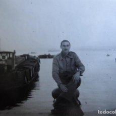 Militaria: FOTOGRAFÍA CAPITÁN HABILITADO DEL EJÉRCITO NACIONAL. SANTANDER. Lote 211514845