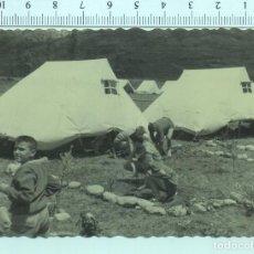Militaria: FOTOGRAFIA FRENTE DE JUVENTUDES O.J.E O SCOUTS. Lote 211514846