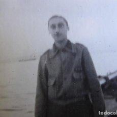 Militaria: FOTOGRAFÍA CAPITÁN HABILITADO DEL EJÉRCITO NACIONAL. SANTANDER. Lote 211514995