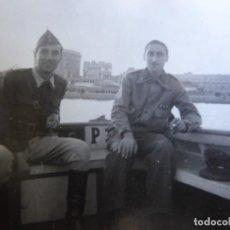 Militaria: FOTOGRAFÍA CAPITÁN HABILITADO DEL EJÉRCITO NACIONAL. SANTANDER. Lote 211515107