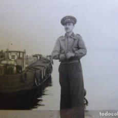 Militaria: FOTOGRAFÍA CAPITÁN HABILITADO DEL EJÉRCITO NACIONAL. SANTANDER. Lote 211515835