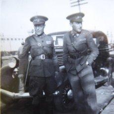 Militaria: FOTOGRAFÍA CAPITÁN HABILITADO DEL EJÉRCITO NACIONAL. SANTANDER. Lote 211516080