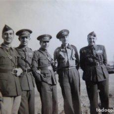 Militaria: FOTOGRAFÍA CAPITÁN HABILITADO DEL EJÉRCITO NACIONAL. SANTANDER. Lote 211516195