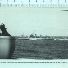 Militaria: FOTOGRAFÍA BARCO DESTRUCTOR DE LA MARINA. Lote 211555014