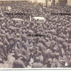 Militaria: LLEGADA SOLDADOS CTV ITALIANOS PUERTO CADIZ EMBARCO RUMBO ITALIA GUERRA CIVIL 1939. Lote 211584107