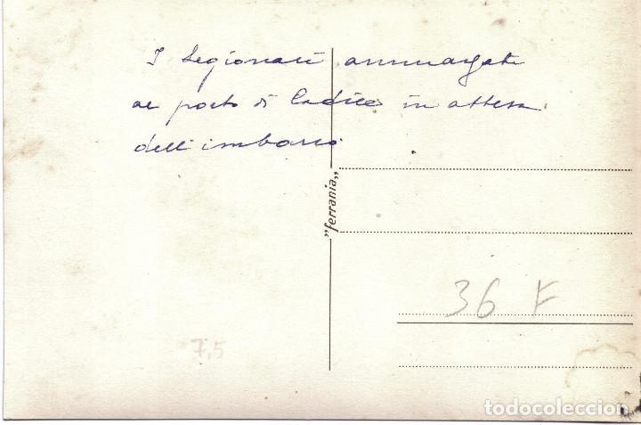 Militaria: LLEGADA SOLDADOS CTV ITALIANOS PUERTO CADIZ EMBARCO RUMBO ITALIA GUERRA CIVIL 1939 - Foto 2 - 211584107