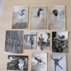 Militaria: LOTE DE ANTIGUAS FOTOS MILITARES. Lote 211592539