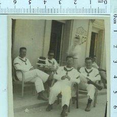 Militaria: MINUTERO FOTOGRAFIA MILITAR. SOLDADO MARINEROS SAN FERNANDO 1953. Lote 211606985