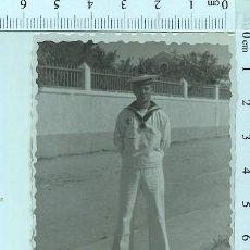 Militaria: FOTOGRAFÍA SOLDADO MARINERO DE MILICIAS SAN FERNANDO 1952. Lote 211610392