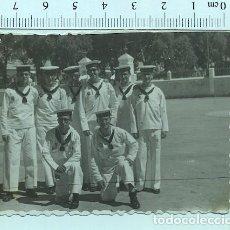 Militaria: FOTOGRAFÍA SOLDADO MARINERO DE MILICIAS NAVALES SAN FERNANDO (CADIZ )1952. Lote 211610469