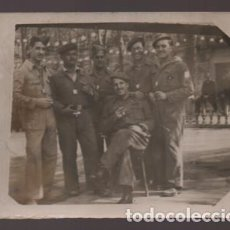 Militaria: FOTO MILITARES- REVERSO: GRUPO DE EJE MALAGA- BARCELONA,- MIDE: 8,50 X 7 C.M. VER FOTOS. Lote 211644374