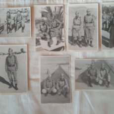 Militaria: LOTE 7 FOTOS MILITAR MANIOBRAS CAMPO DE TIRO SOLDADOS ALICANTE ? AÑO 1974. Lote 211677685