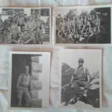 Militaria: 4 FOTOS MILITAR MANIOBRAS MONTAÑA CANTINA ALICANTE 1970. Lote 211678629