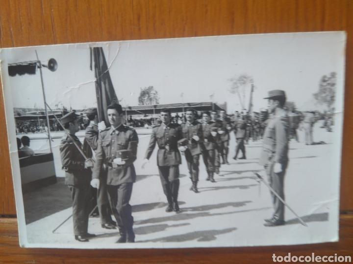 MILITAR SOLDADO JURA DE BANDERA AÑOS 70 -FOTO RAMÓN, ALICANTE (Militar - Fotografía Militar - Otros)