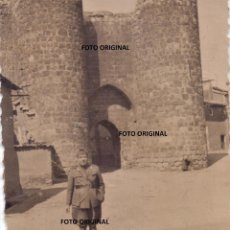 Militaria: OFICIAL CTV ITALIANO PUERTA AMURALLADA ALMAZAN (SORIA) SEPTIEMBRE 1937 GUERRA CIVIL. Lote 211897321