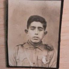 Militaria: FOTOGRAFIA JOVEN FALANGISTA, EPOCA GUERRA CIVIL ESPAÑOLA. Lote 212132180
