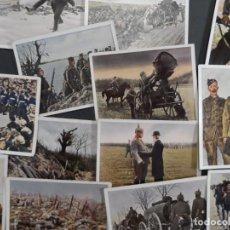 Militaria: 25 CROMOS DER WELTKRIEG. I GUERRA MUNDIAL EN COLOR . TABACO ALEMAN. AÑO 1936. Lote 212247692