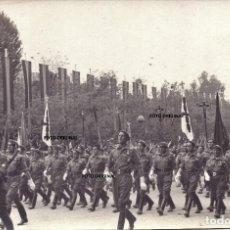 Militaria: PARADA MILITAR TROPAS CARLISTAS MADRID FRANCO 1939 GUERRA CIVIL. Lote 212310186