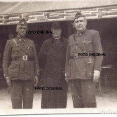 Militaria: OFICIAL MEDICO ESPAÑOL AMIGO CTV ITALIANO TORO (ZAMORA) GUERRA CIVIL. Lote 212334640
