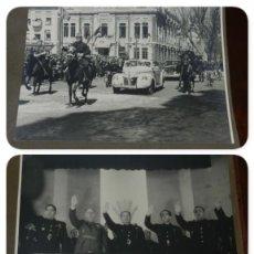 Militaria: ALBUM CON 37 FOTOGRAFIAS DEL ACTO DE FALANGE EN ALBACETE, 22 Y 23 DE ABRIL DE 1943, FOTO DE BELDA, C. Lote 212500217