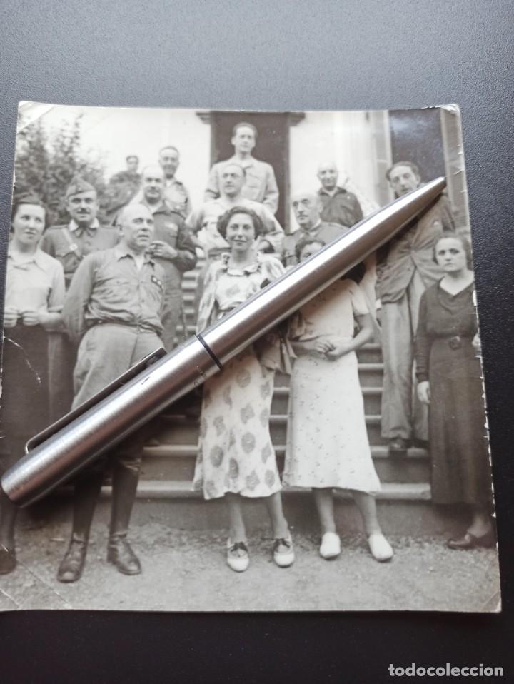 FOTO DE CORONEL EN LA GUERRA CIVIL. MEDALLA MILITAR INDIVIDUAL (Militar - Fotografía Militar - Guerra Civil Española)