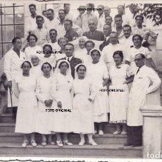 Militaria: HOSPITAL 043 ITALIANO VALLADOLID CRUZ ROJA OFICIALES MEDICOS ENFERMOS 1938 GUERRA CIVIL. Lote 213084857