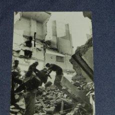 Militaria: ANTIGUA FOTOGRAFIA ORIGINAL 30 ENERO 1938 BARCELONA BOMBARDEO DE LA POBLACION CIVIL POR LA AVIACION. Lote 213858413