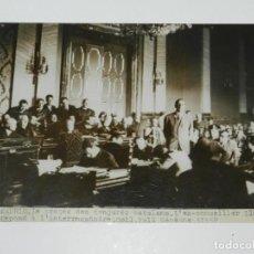 Militaria: REPUBLICA FOTO ORIGINAL MADRID 29 MAYO 1935 LE PROÇES DES CONJURES CATALANS .L'EX-CONSEILLER LLHUI. Lote 213858545