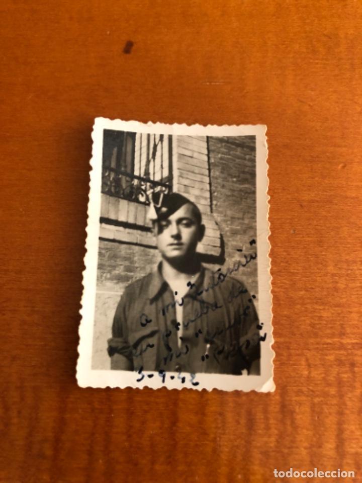FOTOGRAFÍA FALANGISTAS AÑOS 40 (Militar - Fotografía Militar - Guerra Civil Española)