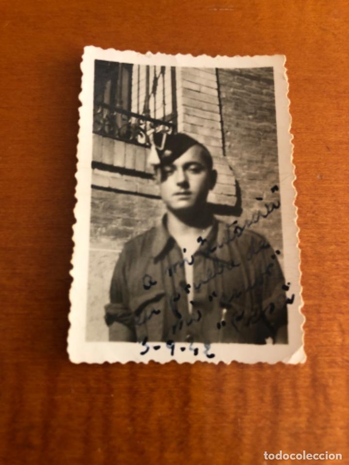 Militaria: Fotografía falangistas años 40 - Foto 2 - 214546488