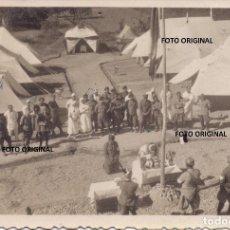 Militaria: MISA CAMPAÑA INCINILLAS BURGOS LAS MERINDADES HOSPITAL ITALIANO CTV FRENTE NORTE GUERRA CIVIL. Lote 215040521