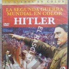 Militaria: LA SEGUNDA GUERRA MUNDIAL EN COLOR - HITLER - DVD CINE- NUEVO PRECINTADO. Lote 215824796